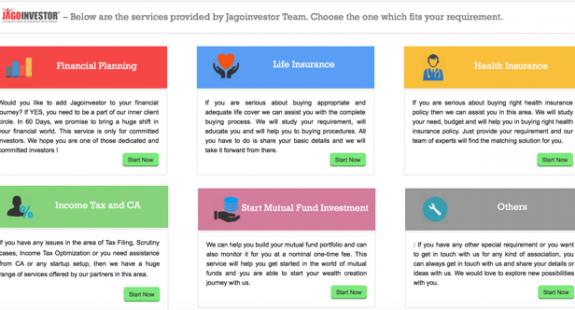finance blog services