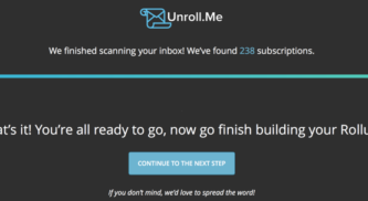 How To Unsubscribe To Annoying Email Newsletter at Once