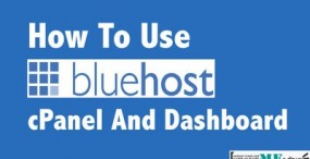 How To Use Bluehost cPanel & Dashboard