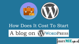 How Much It Costs to Start a Self Hosted WordPress Blog?