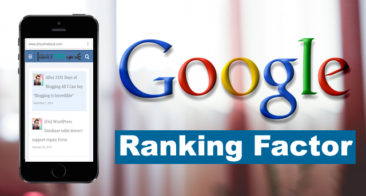 You Can't Ignore Mobile Friendly site – Official Search Engine Ranking Factor
