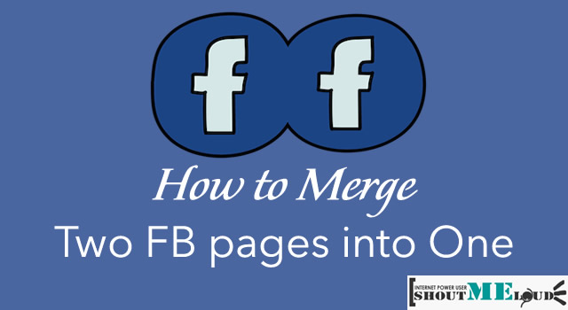 Merge Two FB pages into one
