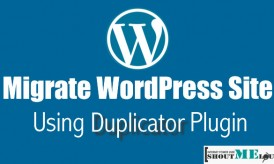Guide To Migrate WordPress Site Using Duplicator Plugin