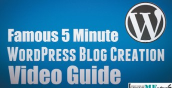 Install WordPress Blog – Video Guide