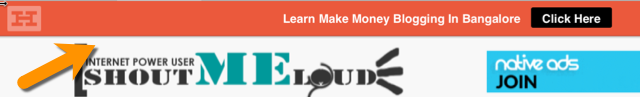 Hellobar example