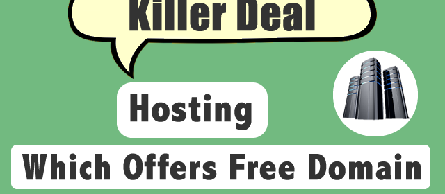 Quality WebHosting Companies Which Offers Free Domain Name