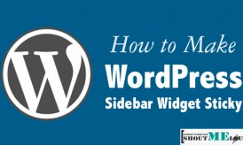 Why & How To Add Sticky Ad in WordPress SideBar
