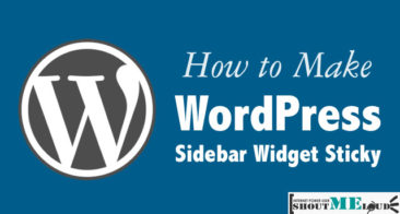 Why & How To Add Sticky Ads In A WordPress SideBar