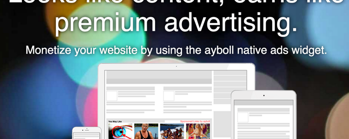Ayboll Review – Native Advertisement Program For Bloggers