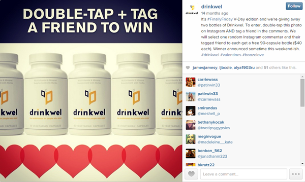 Instagram Contest for Followers and Engagement