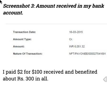 Payoneer vs PayPal India