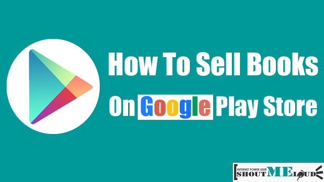 Sell Books On Google Play Store