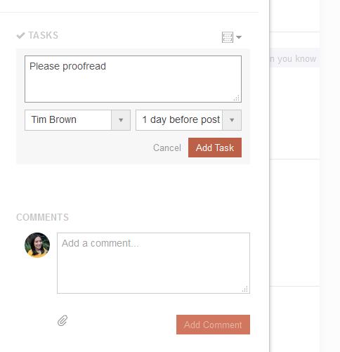 WordPress task management
