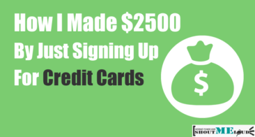 How I Made $2500 By Just Signing Up For Credit Cards