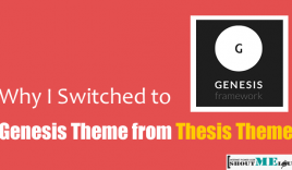 Why I Switched to Genesis Theme from Thesis Theme