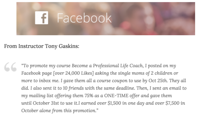 Facebook Marketing - Tony Gaskin