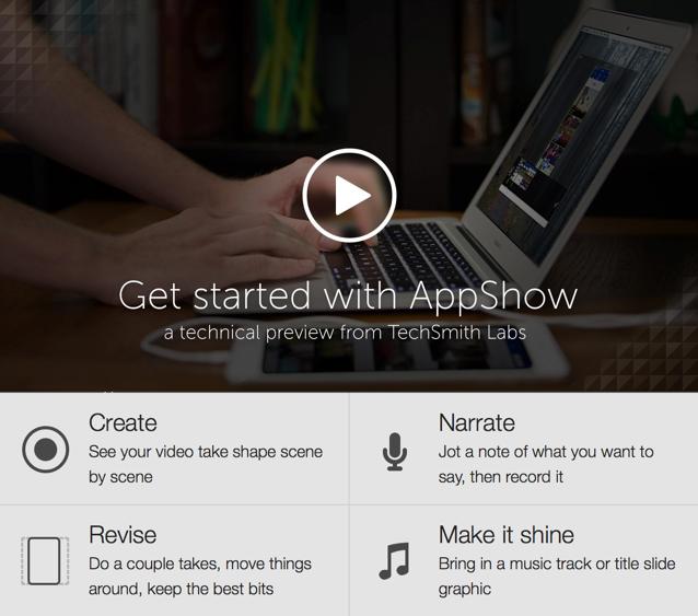 appshow iPhone app demo