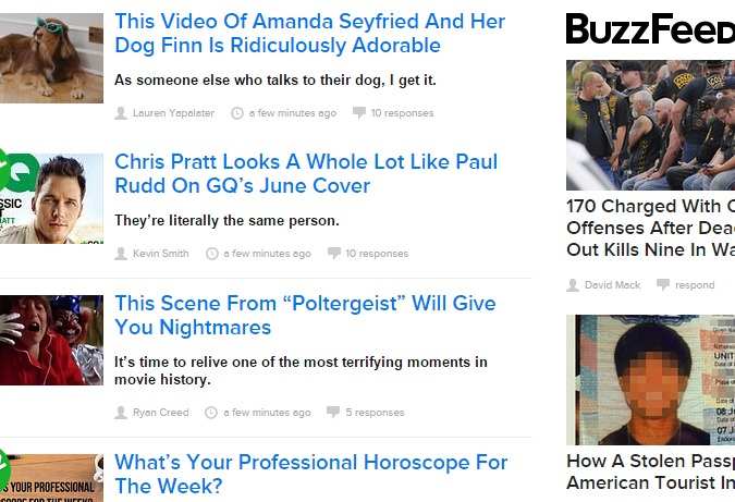 buzzfeed titles have a consistent style