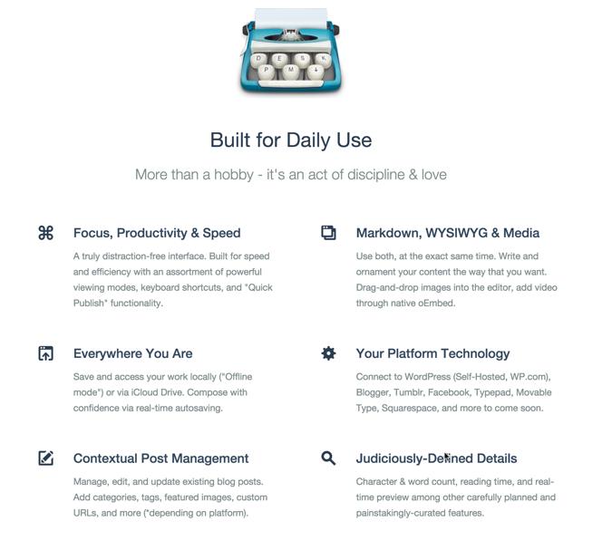 desk app features