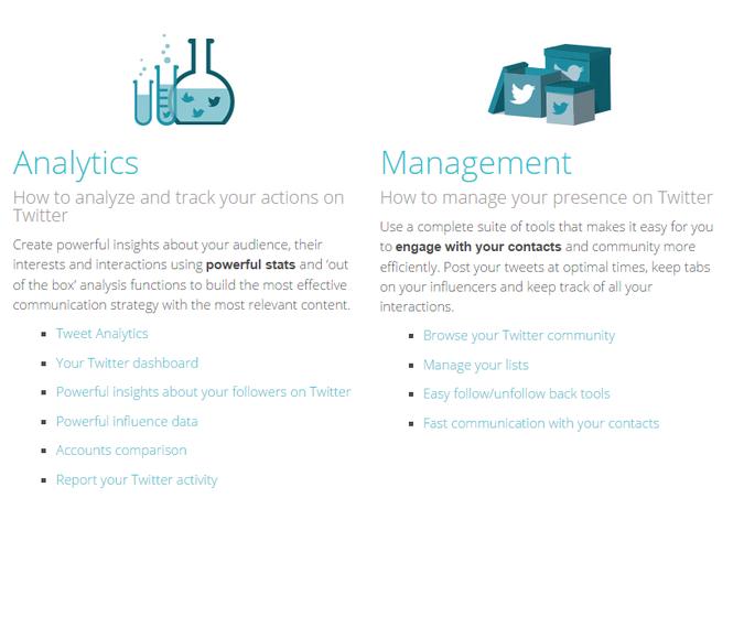 SocialBro Analytics Feature