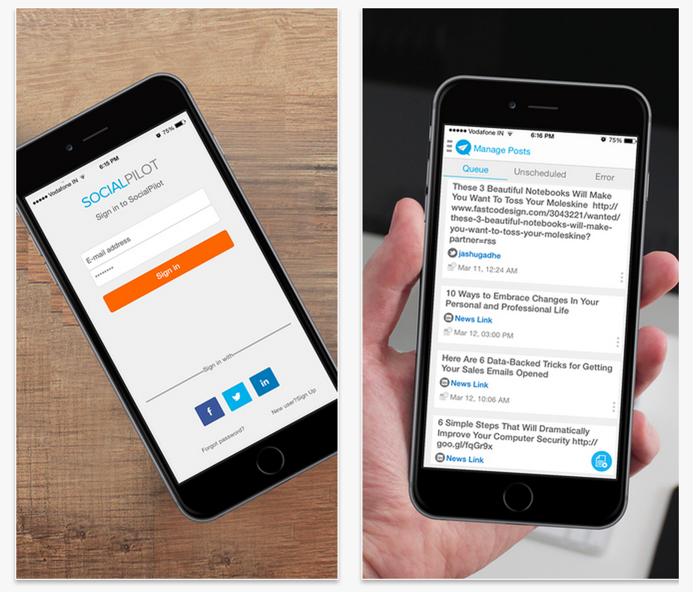 socialMedia iOS app