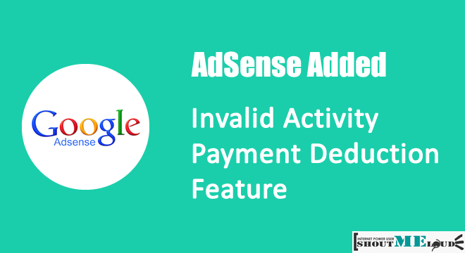 AdSense Invalid Activity