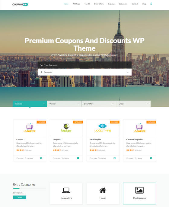 7 Best Coupons WordPress Themes To Create Deal Site