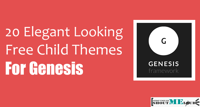20 Elegant Looking Best Free Child Themes for Genesis