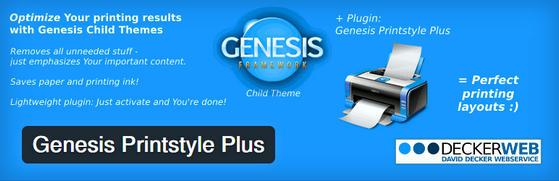 Genesis Printstyle Plus