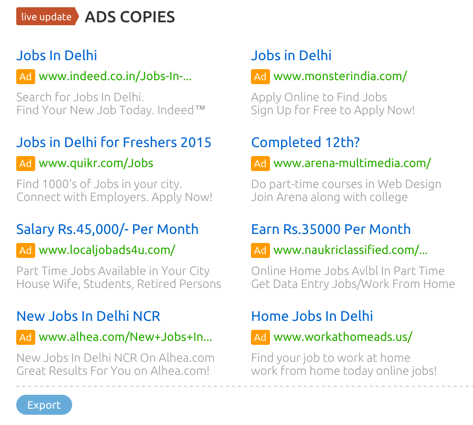 Gallery Of How Semrush Google India Search Database Will Help In Seo With Apply For Online Jobs Work From Home