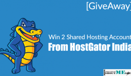 [GiveAway] Win 2 Shared Hosting Account From HostGator India
