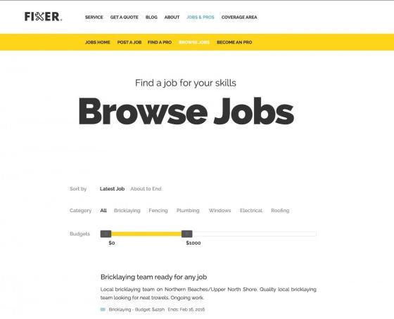 Jobs & Experts