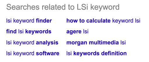 LSI Keyword finder