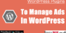 5+ WordPress Plugins To Manage Banner Ads in WordPress