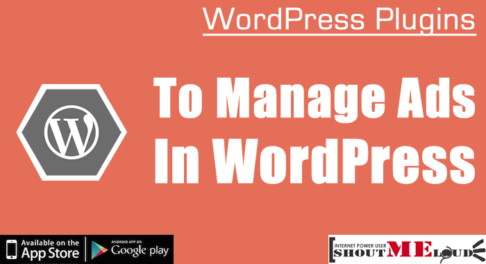 Manage Ads In WordPress