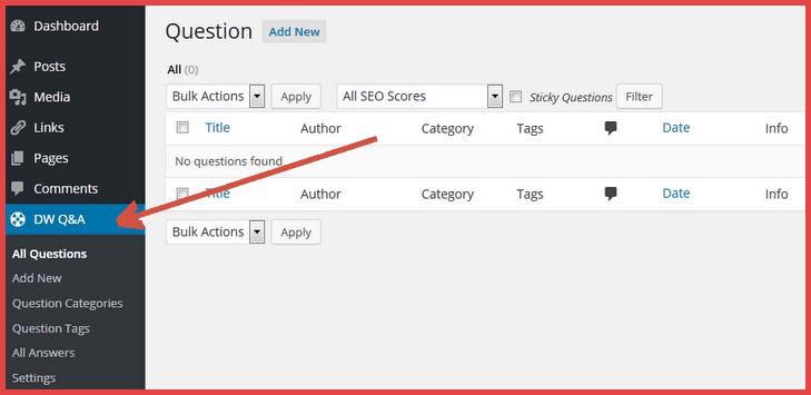 DW Q&A WordPress Plugin