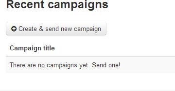 Sendy Campaigns