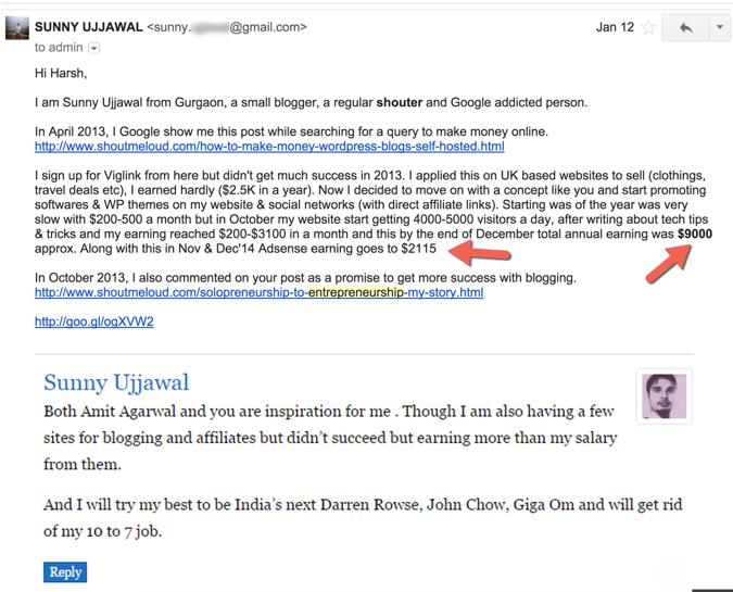 Sunny Ujjwal Internet marketer