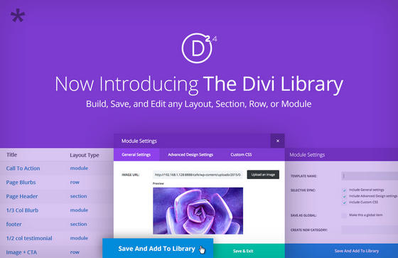 Divi Library