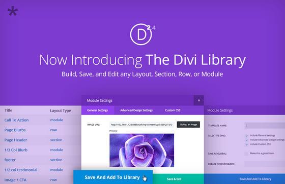 Divi Library
