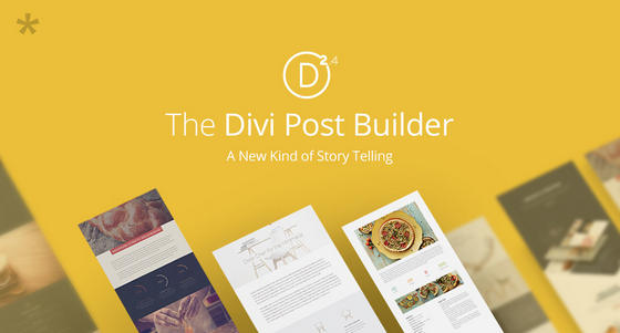 Divi 2.4 Post Builder