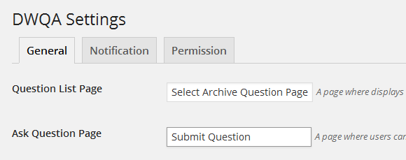 submit-question-page-settings