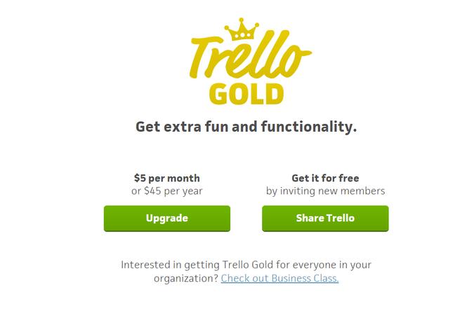 Trello Gold