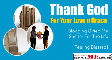 Blogging Gifted Me Shelter For The Life – Feeling Blessed!