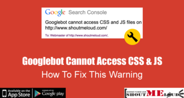 How To Fix Googlebot Cannot Access CSS & JS Warning