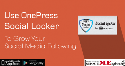 How To Use OnePress Social Locker To Grow Your Social Media Following
