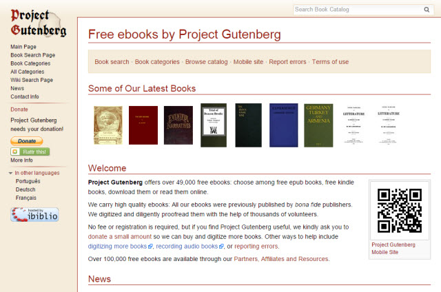 gutenberg project audio How to download an audiobook from project gutenberg onto an mp3 player or ipod.
