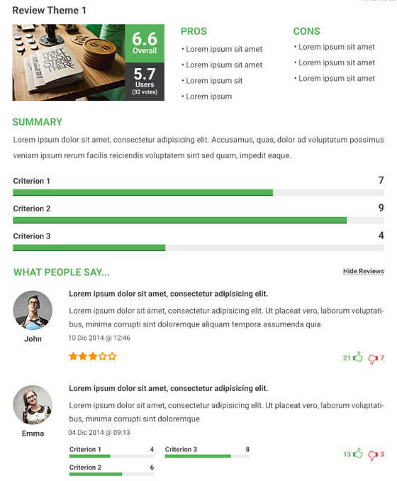 Reviewer WordPress Plugin