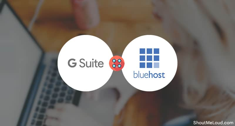 Set Up G Suite on Bluehost