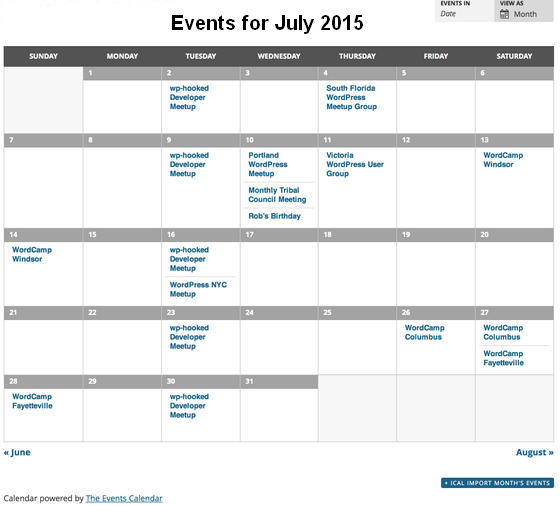 Best Event Calendar Wordpress Plugins For Website